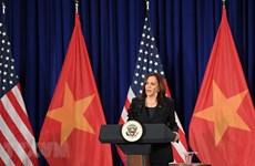 美国副总统哈里斯访问越南:续写越美两国关系新篇章