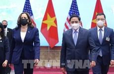白宫就越美全面伙伴关系发表声明