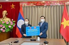 越南首都河内与老挝万象加强多个领域合作
