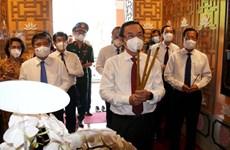 越南国庆76周年:胡志明市领导代表团上香缅怀胡志明主席
