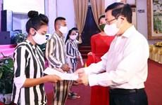 范平明出席4号富山监狱国家主席特赦令发布仪式