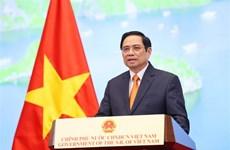 范明政总理:越南愿与中国和其他国家一道推动数字经济乃至服务贸易关系