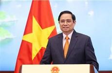越南政府总理范明政在2021年全球服务贸易峰会上发表的重要讲话(全文)