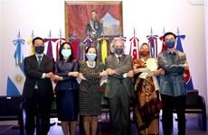 东盟成立54周年纪念典礼在阿根廷举行