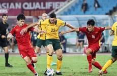 2022年卡塔尔世界杯亚洲区预选赛12强赛:越南队0-1澳大利亚队
