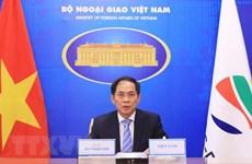 越南外交部长裴青山出席湄公河流域五国与韩国合作部长级第11次会议