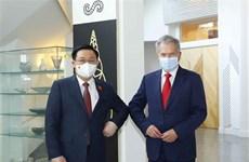 越南国会主席王廷惠会见芬兰共和国总统
