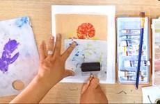 在线学画画  在家找乐趣