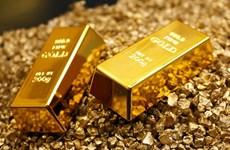 9月14日上午越南国内黄金价格每两下降5万越盾