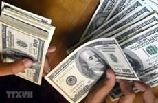 9月15日上午越盾对美元汇率中间价上调13越盾