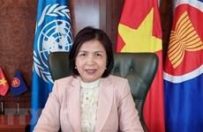 越南代表出席联合国人权理事会第48次会议