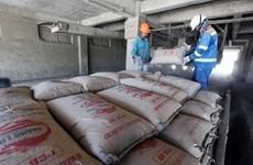 今年前8月越南水泥出口同比增长12%