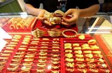 9月17日上午越南国内黄金价格下降60万越盾