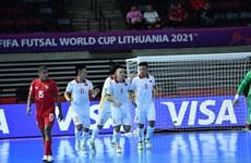 2021国际足联室内五人制足球世界杯:越南队以3比2击败巴拿马队