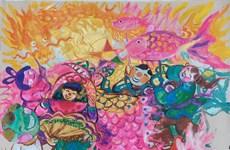 欢度中秋节画展以线上形式举行