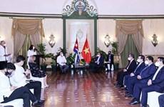 越南与古巴促进通过政府间联合委员会机制的合作