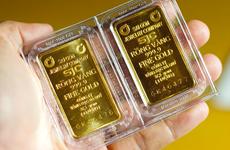 9月21日上午越南国内黄金价格上涨30万越盾
