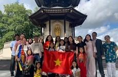 旅英越南侨胞心系祖国情系家乡 捐赠物资共抗疫情