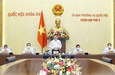 越南国会常务委员会第三次会议闭幕