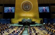 越南国家主席阮春福出席第76届联合国大会一般性辩论