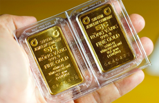 9月22日上午越南国内黄金价格上涨5万越盾