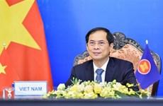 越南外长裴青山访俄证明加强两国全面战略伙伴关系是越南的优先事项