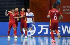 2021国际足联室内五人制足球世界杯:俄罗斯媒体盛赞越南队的比赛精神