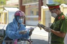 胡志明市的大部分网约车送货员已接种新冠疫苗