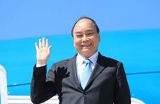 阮春福访古和出席第76届联合国大会一般性辩论之旅具有深远的意义 为进一步提升越南在国际舞台上的威望和地位作出贡献