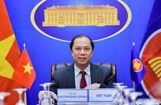 东盟高官会在线举行 为第38、39届东盟峰会做准备