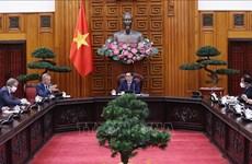 越南政府总理范明政会见大不列颠及北爱尔兰联合王国驻越南大使加雷斯·沃德