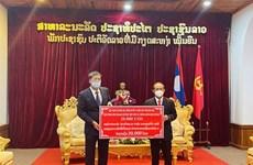 首都河内捐赠款项支持老挝琅勃拉邦省抗击疫情