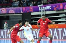 越南球员阮文孝获得2021年国际足联室内五人足球世界杯最佳进球奖