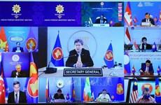东盟外长强调维护多边主义的重要性