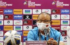 越南队主教练朴恒绪:与中国队的较量是一场非常重要的比赛