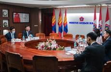 蒙古人民党重视发展与越南党、国家和人民的合作关系
