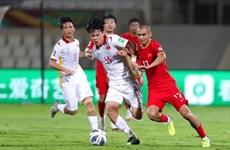 世界杯亚洲区预选赛12强赛:中国队以3比2击败越南队