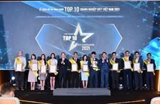 2021年越南信息技术企业10强名单正式出炉