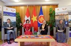 越南驻日内瓦和伯尔尼代表机构配合举行2021年瑞士越南日