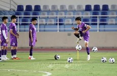 2022年世界杯预选赛:越南力争进球获得积分