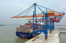 越南港口集装箱吞吐量继续保持两位数增长
