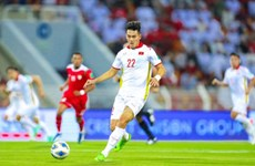 2022年世界杯预选赛第三轮比赛:越南球员阮进玲获得10月最佳球员称号