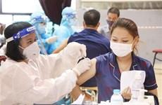 10月19日越南新增新冠肺炎确诊病例较昨日下降132例
