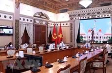 胡志明市希望推动对外合作 助力经济社会发展