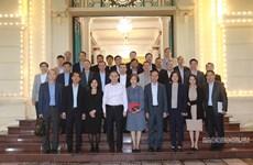 越共中央对外部领导会见2021-2024年任期越南驻外代表机构首席代表