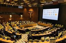 """越南与联合国安理会:越南主持召开""""海平面上升对国际和平与安全的影响""""阿里亚模式会议"""