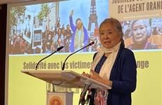比利时-越南协会与越南二恶英受害者协会携手讨回公道