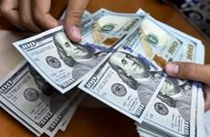 10月21日上午越盾对美元汇率中间价上调22越盾