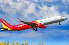 越捷航空恢复48条国内航线 满足全国居民出行需求