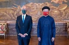 葡萄牙愿与越南加强合作共同发展